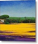 Tuscan Landcape Metal Print by Trevor Neal