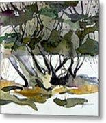 Twilight Tree Metal Print by Mindy Newman