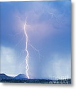 Twisted Lightning Strike Colorado Rocky Mountains Metal Print by James BO  Insogna