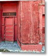 Two Red Doors Metal Print by James Steele