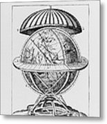 Tycho's Great Brass Globe Metal Print by Science, Industry & Business Librarynew York Public Library