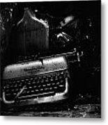 Typewriter Metal Print by Eric Tadsen