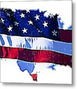 U. S. A. Metal Print by Lauranns Etab