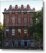Uc Berkeley . South Hall . Oldest Building At Uc Berkeley . Built 1873 . 7d10053 Metal Print by Wingsdomain Art and Photography