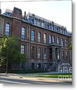 Uc Berkeley . South Hall . Oldest Building At Uc Berkeley . Built 1873 . 7d10100 Metal Print by Wingsdomain Art and Photography
