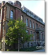 Uc Berkeley . South Hall . Oldest Building At Uc Berkeley . Built 1873 . 7d10103 Metal Print by Wingsdomain Art and Photography