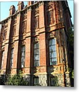 Uc Berkeley . South Hall . Oldest Building At Uc Berkeley . Built 1873 . 7d10108 Metal Print by Wingsdomain Art and Photography