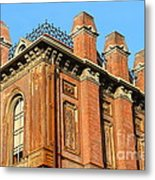 Uc Berkeley . South Hall . Oldest Building At Uc Berkeley . Built 1873 . 7d10114 Metal Print by Wingsdomain Art and Photography