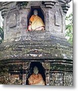 Ulun Danu Temple Statues Metal Print by Design Pics