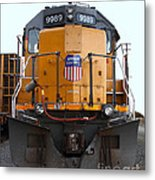 Union Pacific Locomotive Trains . 7d10589 Metal Print by Wingsdomain Art and Photography
