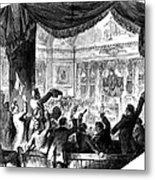 U.s. Congress: House, 1856 Metal Print by Granger