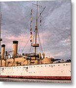 Uss Olympia Metal Print by JC Findley
