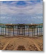 Vacation Reflection Metal Print by Betsy C Knapp