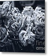 Vase Of Flowers 2 Metal Print by Madeline Ellis