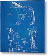 Velocipede Horse-bike Patent Artwork 1893 Metal Print by Nikki Marie Smith
