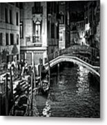 Venice Evening Metal Print by Madeline Ellis
