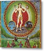 Venus Ruler Of Taurus And Libra Metal Print by Photo Researchers