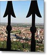 Verona- View Metal Print by Italian Art