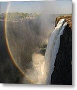 Victoria Falls Metal Print by Christian Heeb