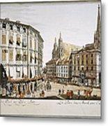 Vienna, 1779 Metal Print by Granger