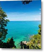View From Khao-lak Metal Print by Atiketta Sangasaeng