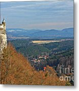 View From Koenigstein Fortress Germany Metal Print by Christine Till