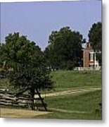 View Of Appomattox Courthouse 1 Metal Print by Teresa Mucha