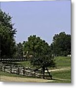 View Of Appomattox Courthouse 2 Metal Print by Teresa Mucha