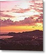 View Of Cabo San Lucas And Tip Of Baja Metal Print by Stuart Westmorland