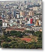 View Of Sao Paulo Skyline Metal Print by Jacobo Zanella