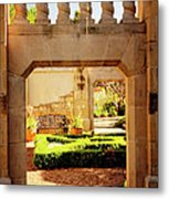 View Of The Garden Metal Print by Tamyra Ayles