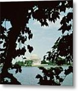 View Of The Jefferson Memorial Metal Print by John Russell Pope