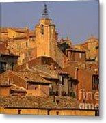 Village De Roussillon. Luberon Metal Print by Bernard Jaubert