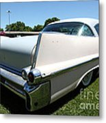 Vintage 1957 Cadillac . 5d16688 Metal Print by Wingsdomain Art and Photography