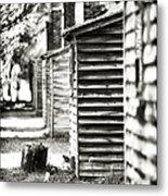 Vintage Cabins Metal Print by John Rizzuto