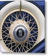 Vintage Nash Tire Metal Print by Kay Novy
