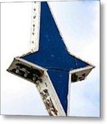 Vintage Star Sign Metal Print by Sophie Vigneault