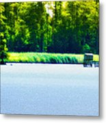 Virginia Tides Metal Print by Bill Cannon