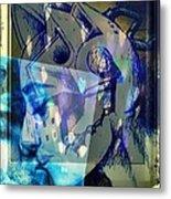 Virtual Kiss 1 Metal Print by Paulo Zerbato