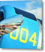 Vultee Bt-13 Valiant Nose Metal Print by Lynda Dawson-Youngclaus