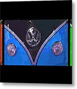 Vw Triptych 2 Metal Print by Cheryl Young