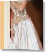 Waiting By The Door Metal Print by Jill Battaglia
