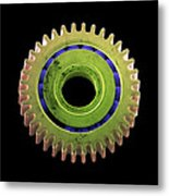 Watch Cog, Sem Metal Print by Steve Gschmeissner