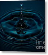 Water Drop No.11 Metal Print by Nadya Ost