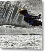 Water Skiing Magic Of Water 12 Metal Print by Bob Christopher