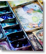 Watercolors Metal Print by Kim Fearheiley