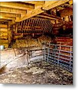 Watersfield Stable Metal Print by Dawn OConnor
