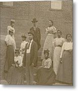 Well Dressed Young African American Men Metal Print by Everett