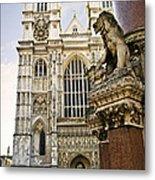 Westminster Abbey Metal Print by Elena Elisseeva