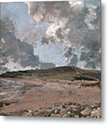 Weymouth Bay With Jordan Hill Metal Print by John Constable